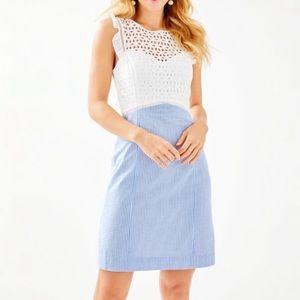 NWT Lilly Pulitzer Maya Shift Seersucker Dress